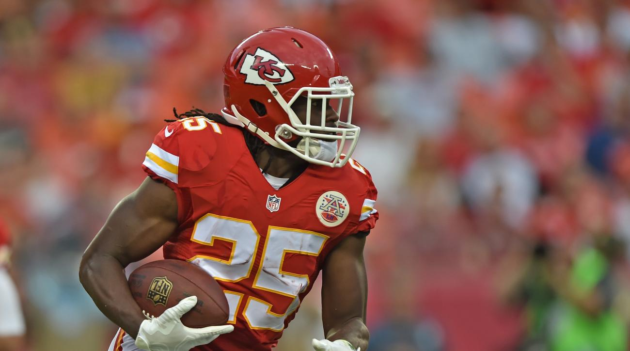 jamaal charles kansas city chiefs ankle injury