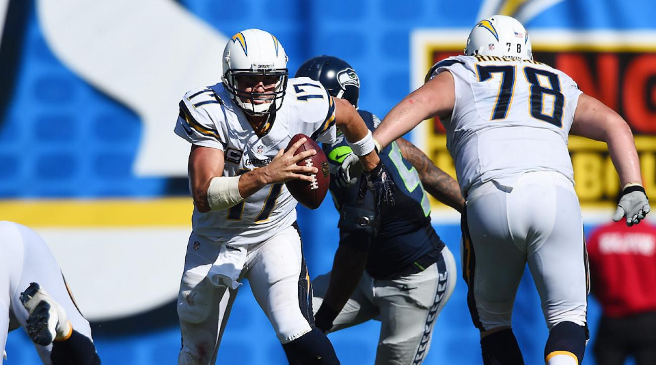San Diego Chargers' offense controls game in upset of Seattle Seahawks