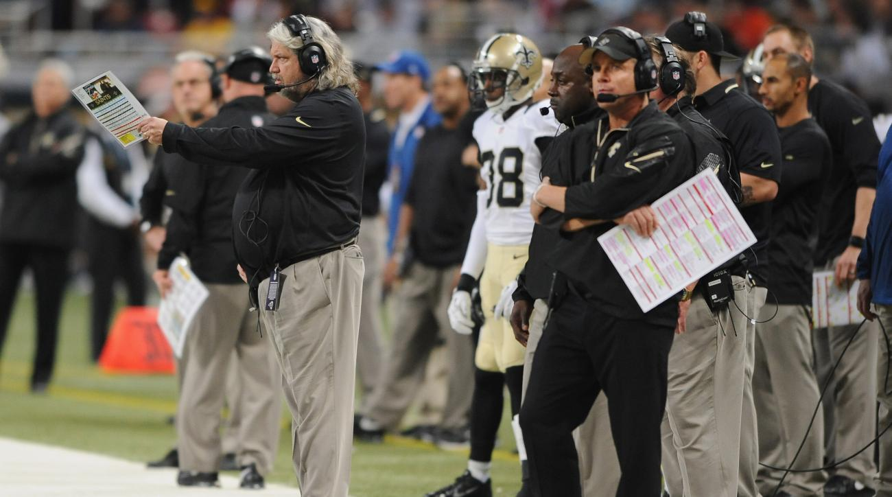 Sean Payton Rob Ryan New Orleans Saints yelling