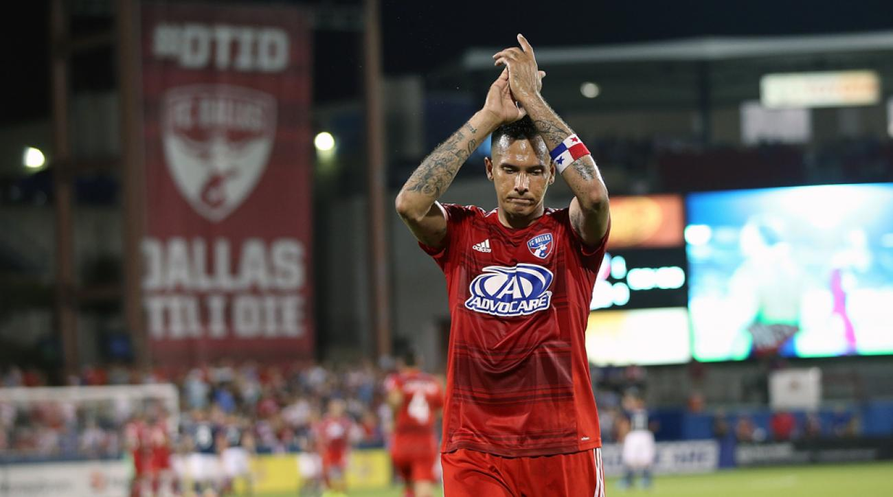 Blas Perez starred in FC Dallas' victory over the Vancouver Whitecaps over the weekend.