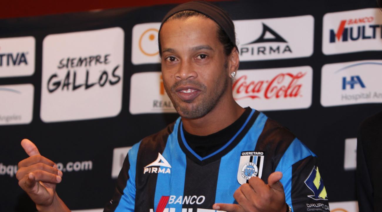 Ronaldinho is set to make his Queretaro debut after moving to the Liga MX club.