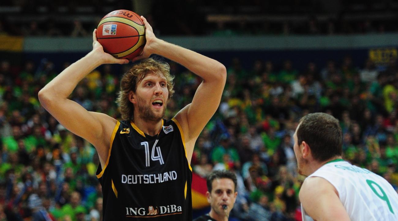 Dallas Mavericks Mark Cuban Dirk Nowitzki Eurobasket 2015