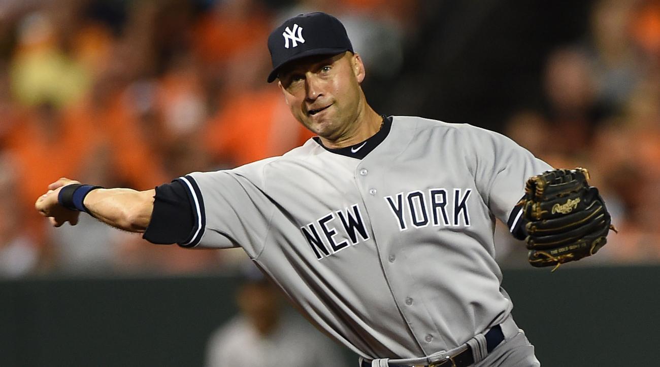 Yankees Derek Jeter captain