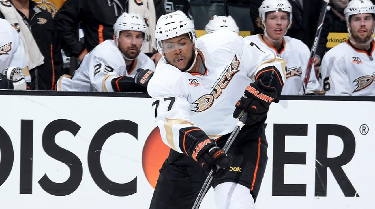 Anaheim Ducks Devante Smith-Pelly