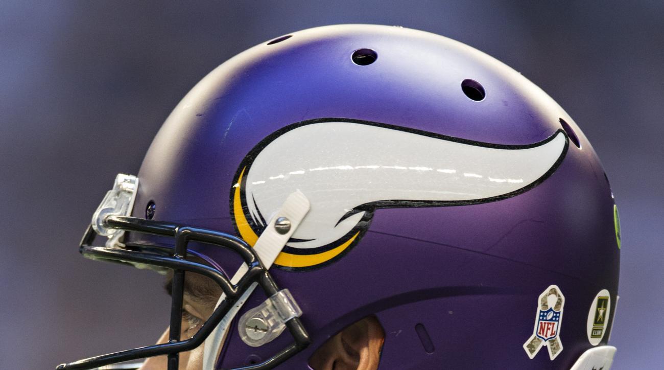 Minnesota Vikings helmet charity