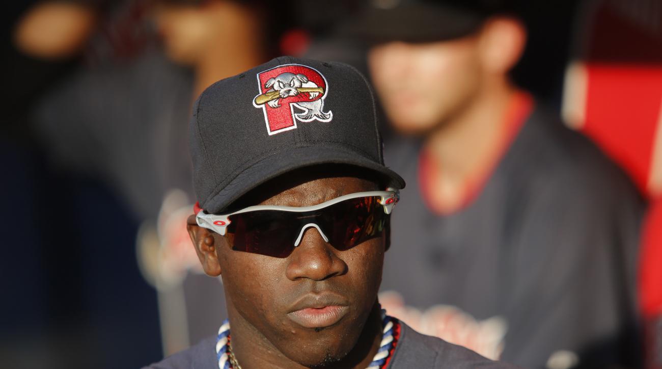 Rusney Castillo Boston Red Sox debut