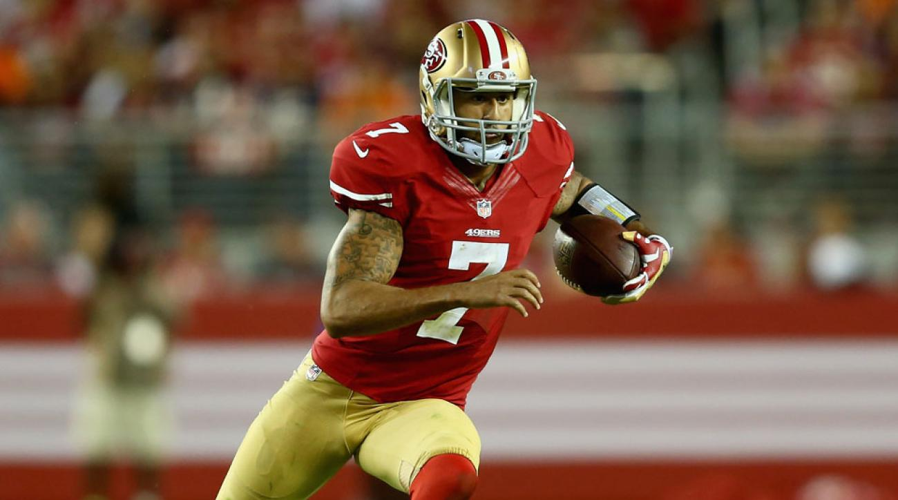 49ers Colin Kaepernick fined