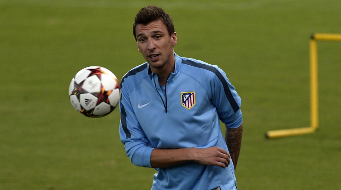 Atletico Madrid Mario Mandzukic