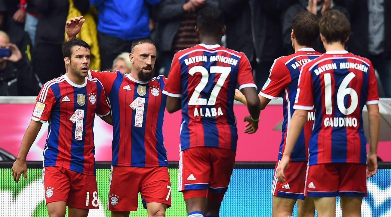 Watch Bayern Munich vs Manchester City online