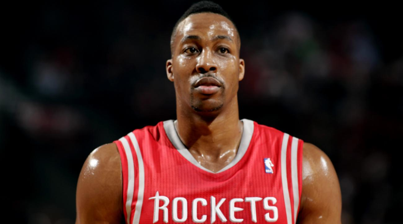Houston Rockets Dwight Howard driver's license suspended