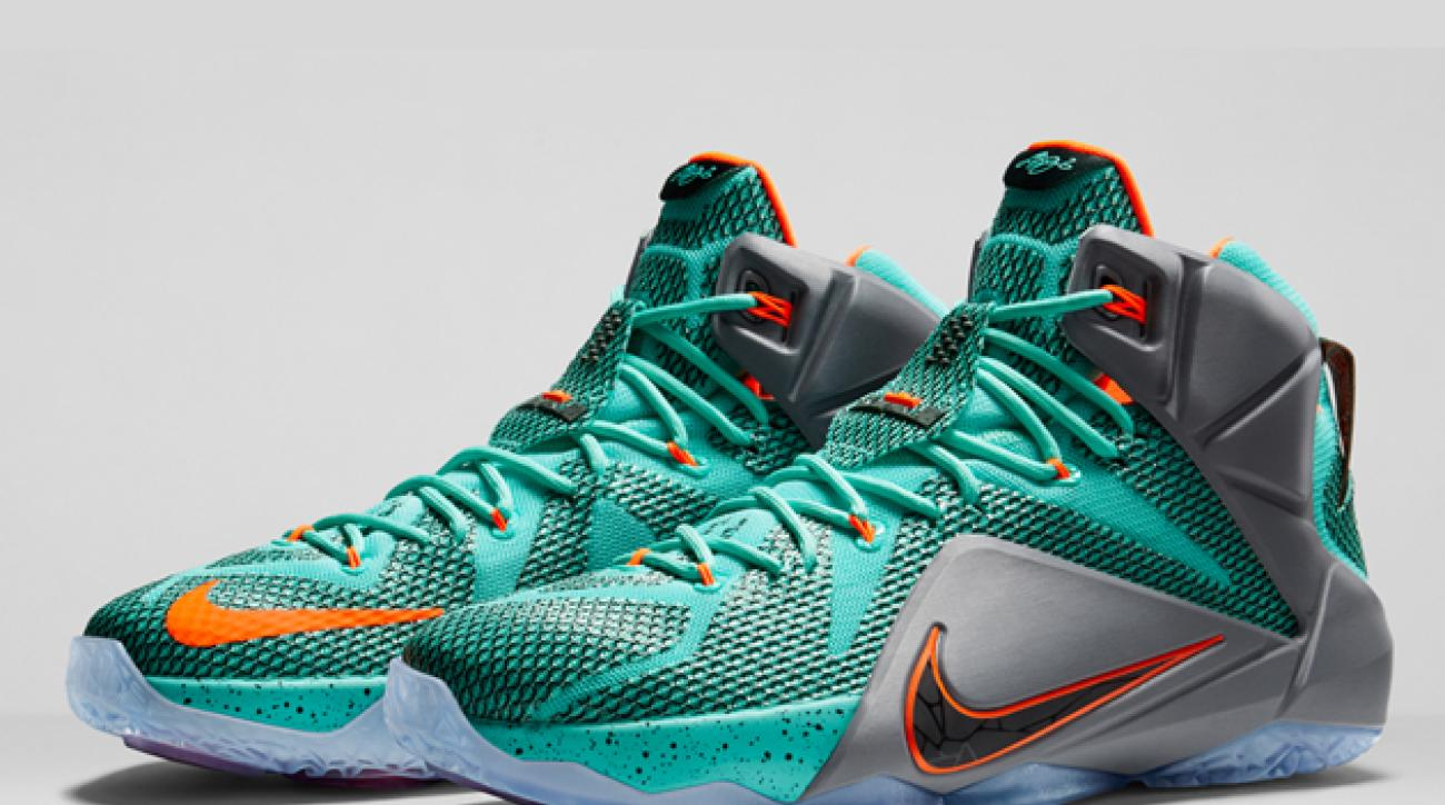 5aa539dd78f7 Nike unveils LeBron James  latest signature sneaker