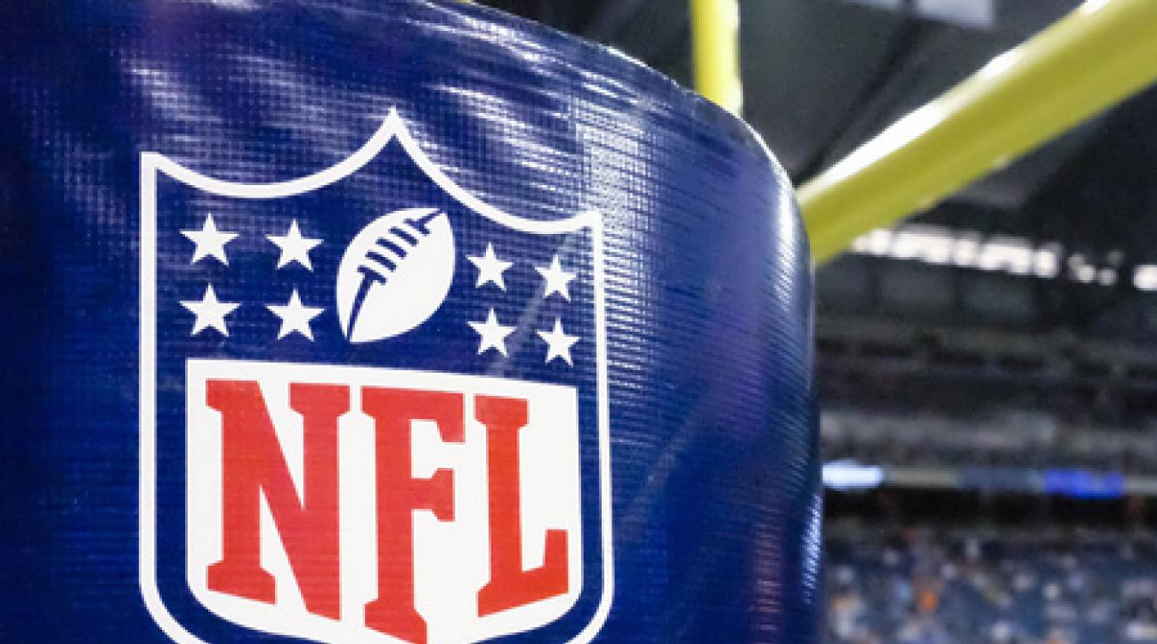 NFL logo goalpost