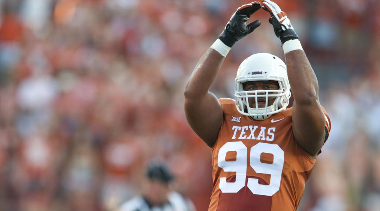 Texas football DT Desmond Jackson