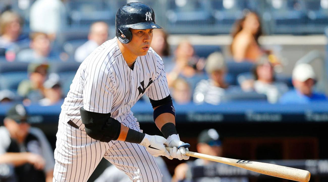 New York Yankees outfielder Carlos Beltran
