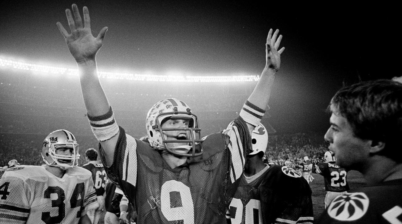 Jim McMahon BYU jersey retired