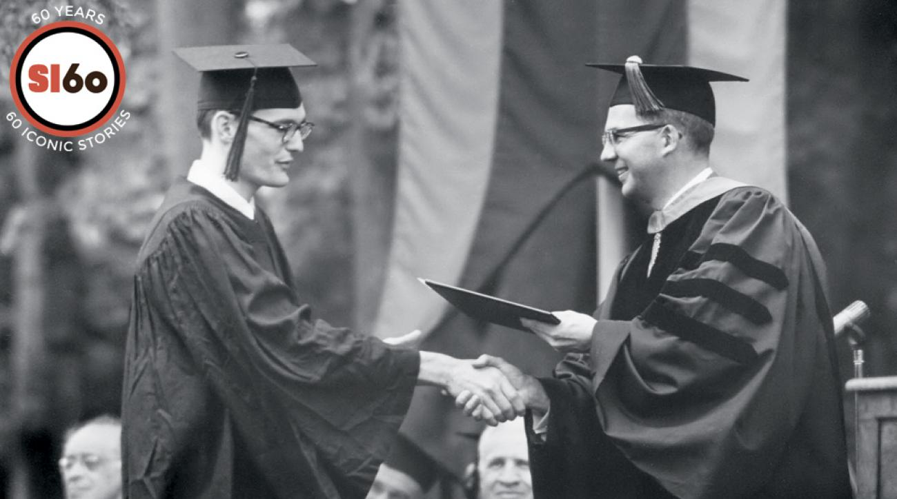 Mike Reily achieved his goal of graduating from Williams before returning home to New Orleans.