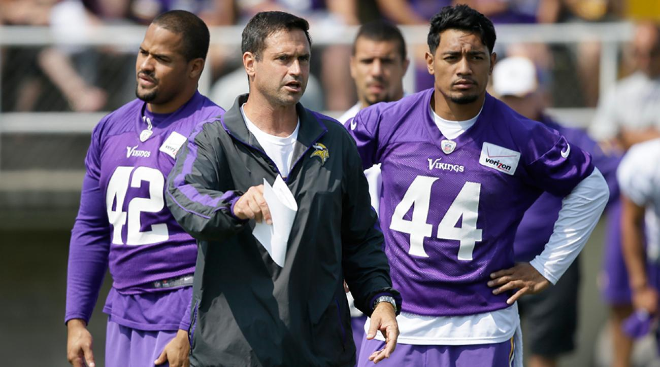 Mike Priefer Vikings assistant