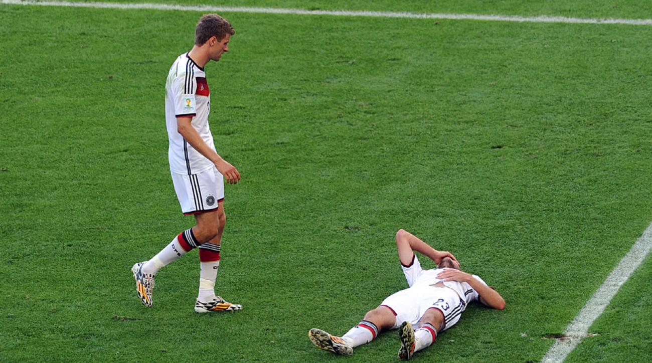Cristoph Kramer was one of five concussion cases during the 2014 World Cup