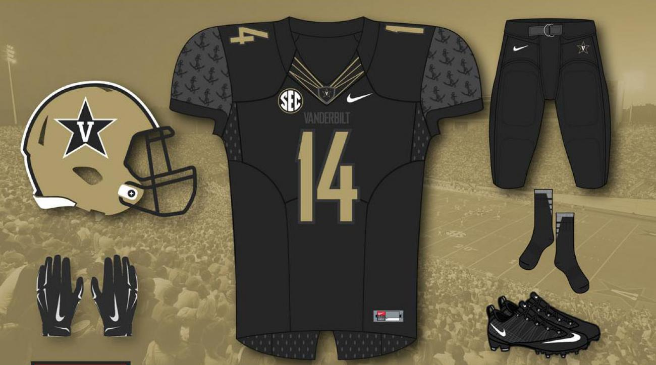 Vanderbilt uniforms