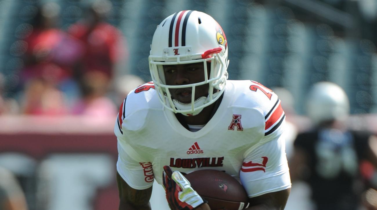 Michael Dyer Louisville season debut FIU