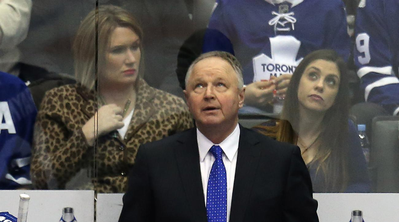 Maple Leafs coach Randy Carlyle job status