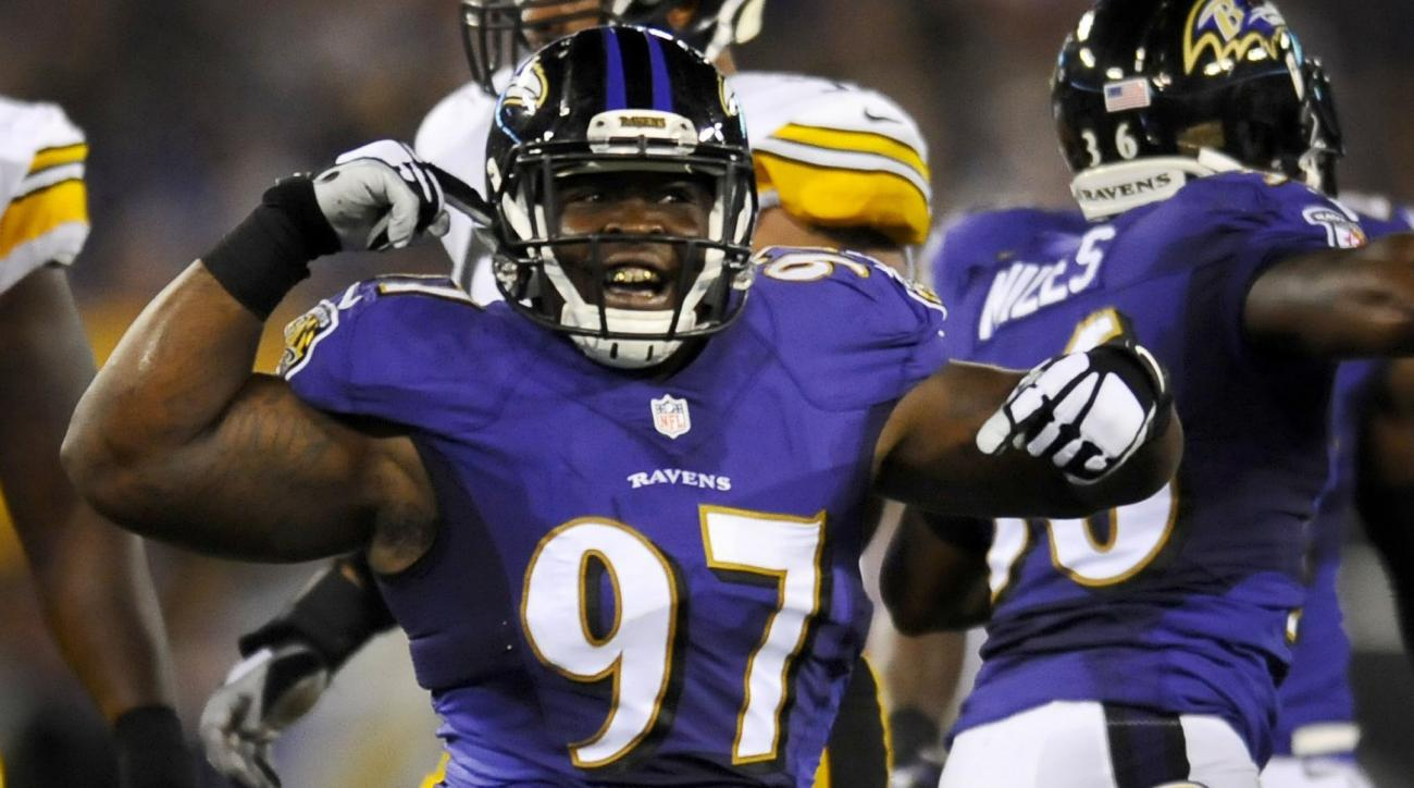 Ravens' Timmy Jernigan knee out