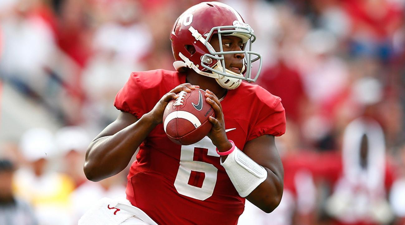 Blake Sims Alabama quarterback