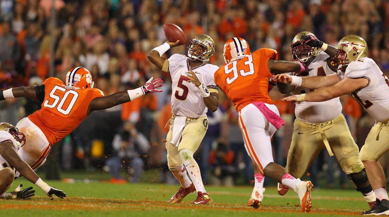 Florida State suspended quarterback Jameis Winston for the entire game against Clemson on Saturday.