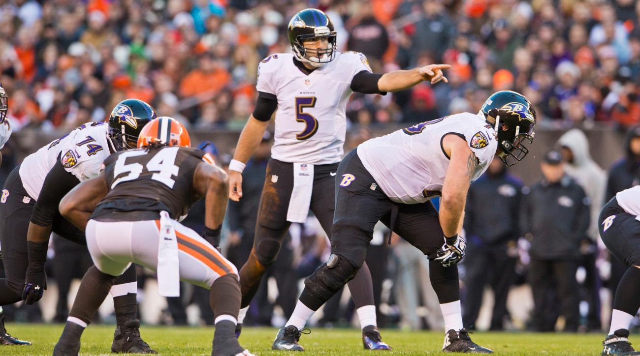 Joe Flacco Ravens quarterback