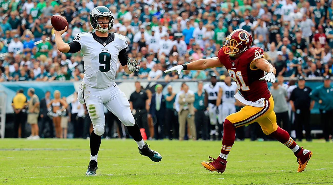 NFL Week 3: Philadelphia Eagles rally again, outduel Washington Redskins