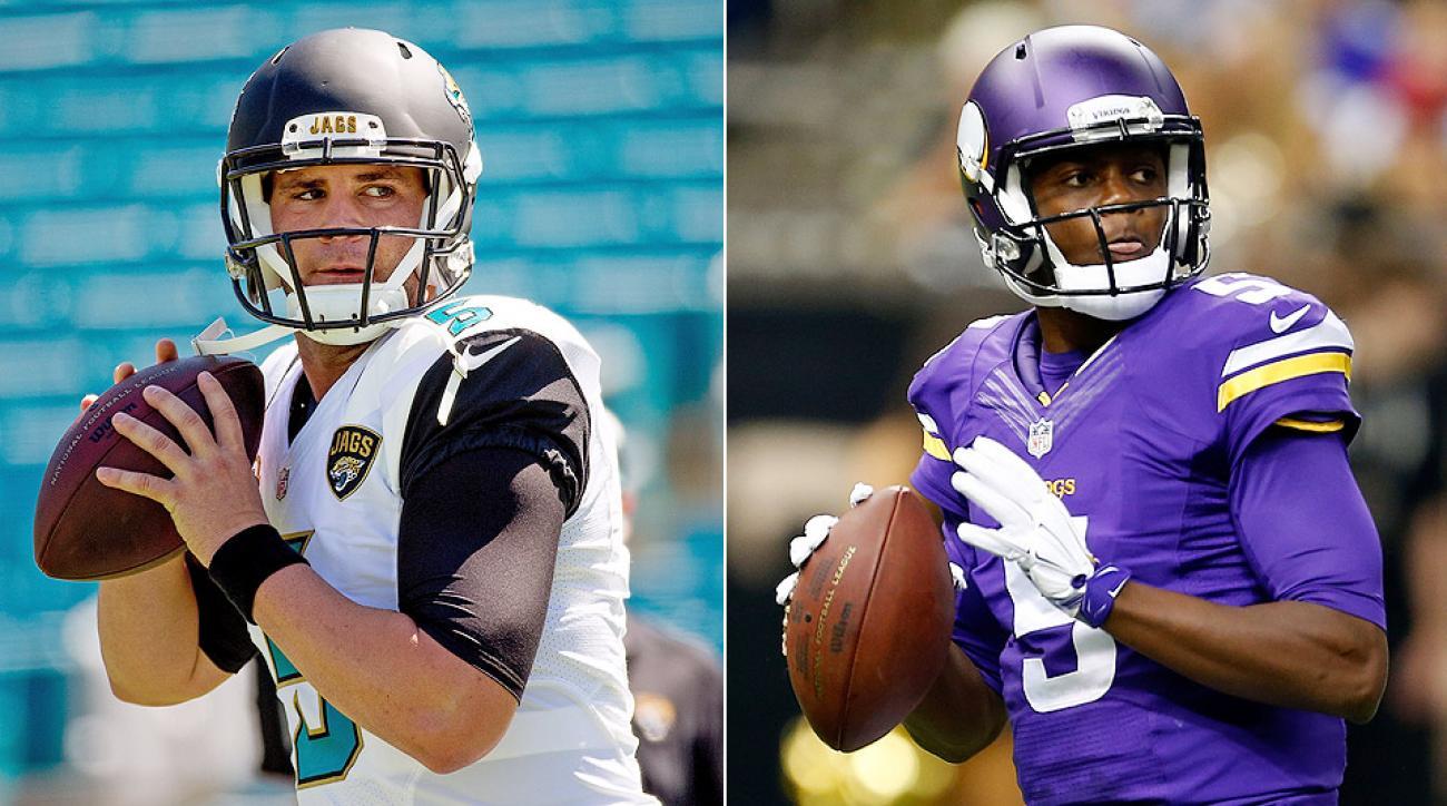 NFL Week 3: Teddy Bridgewater, Blake Bortles make their NFL debuts