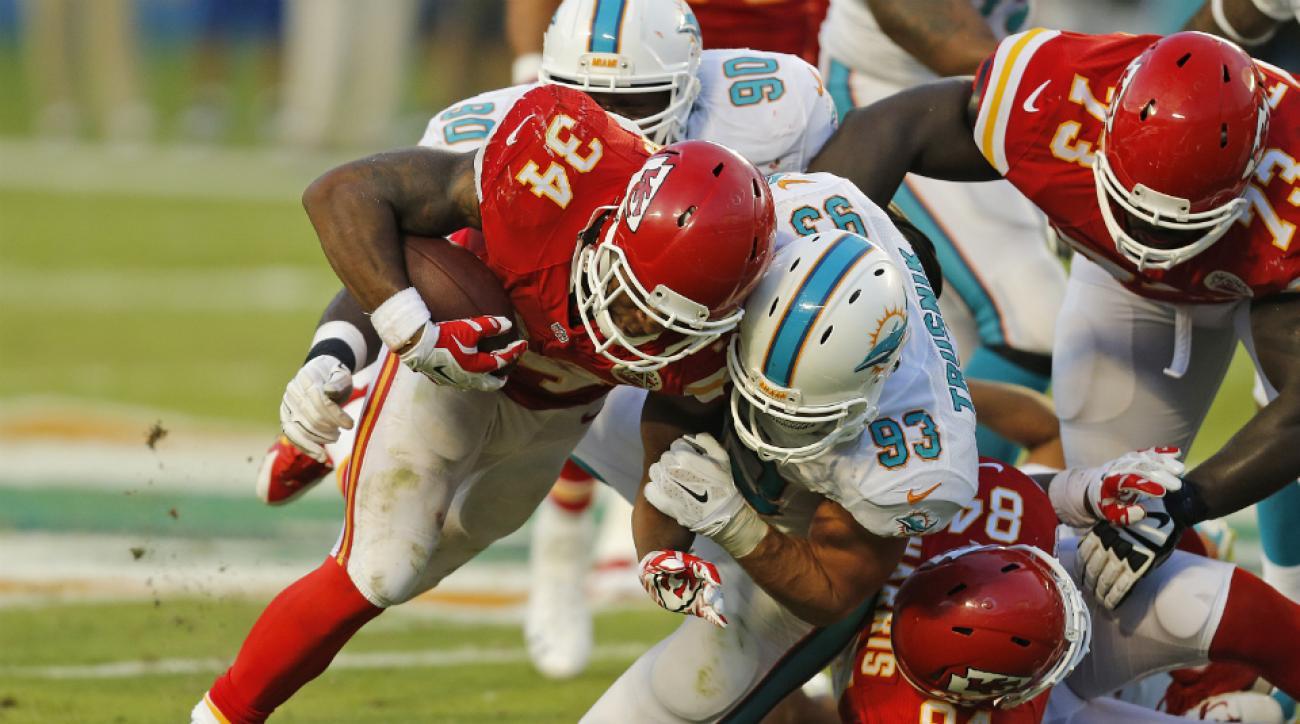 Miami Dolphins defense struggles
