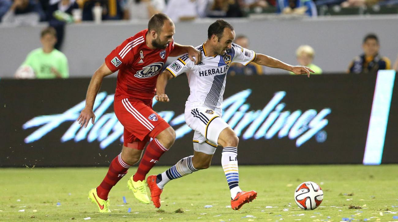 Landon Donovan and the LA Galaxy are atop the Power Rankings after a win over FC Dallas this past week.