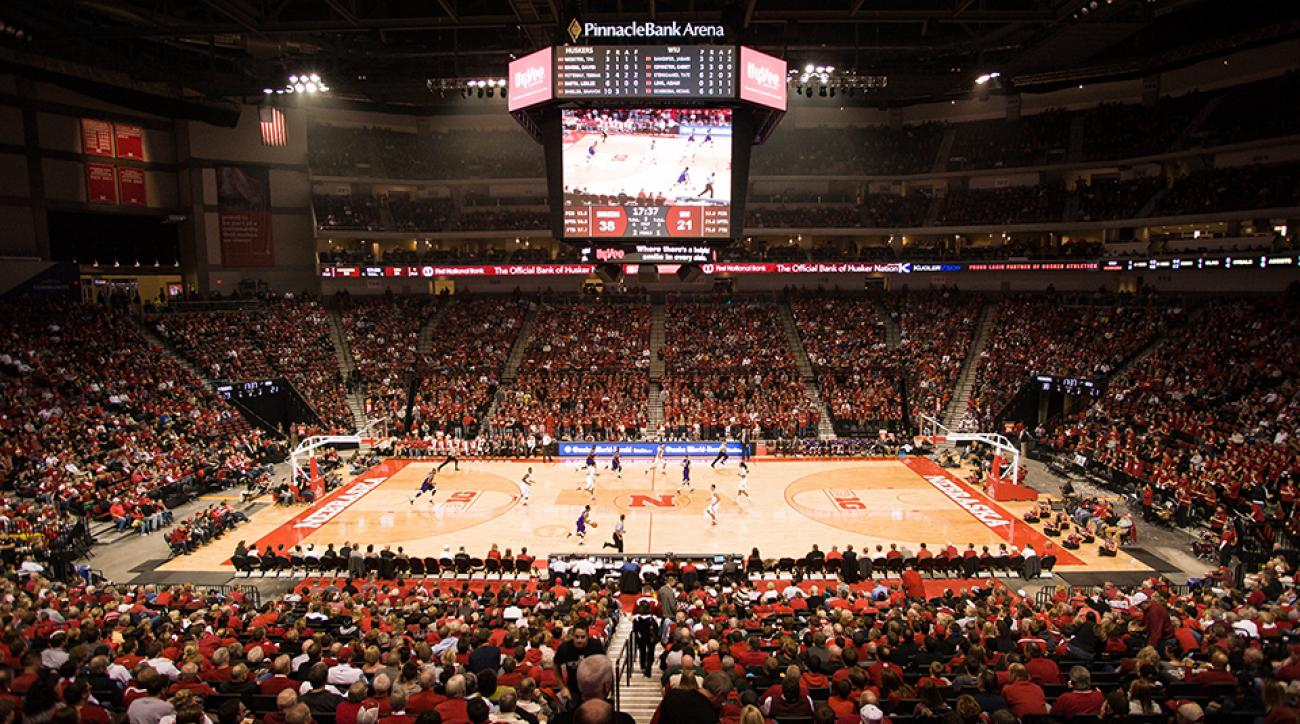 Nebraska basketball arena