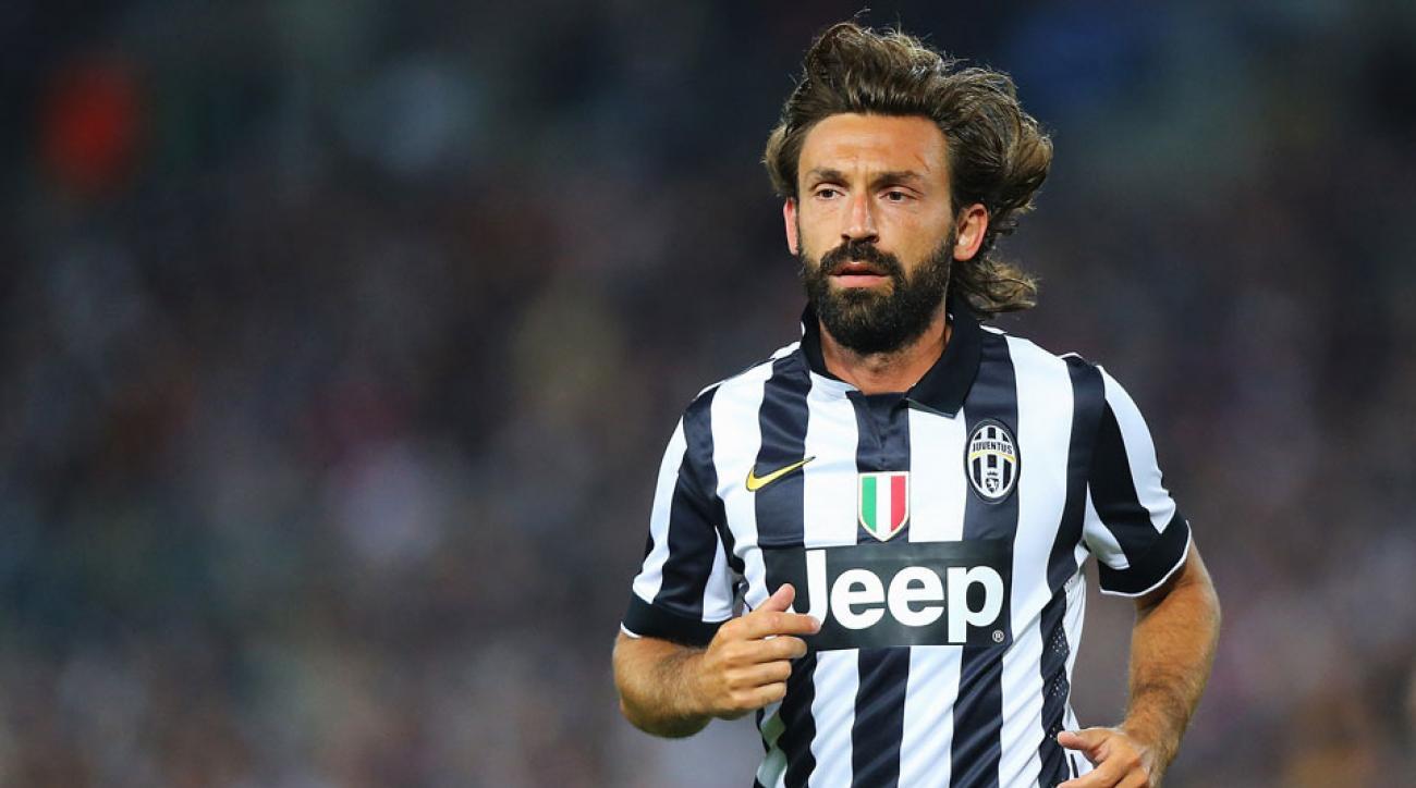 Andrea Pirlo Juventus midfielder