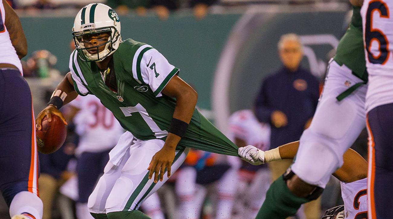 Geno Smith struggles in Jets' Monday Night loss to Bears