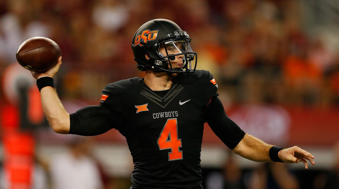 J.W. Walsh Oklahoma State Cowboys Texas Tech