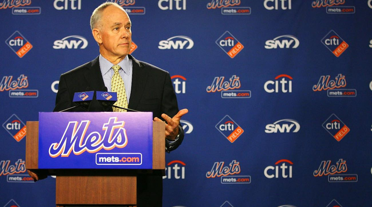 new york Mets GM Sandy Alderson contract extension