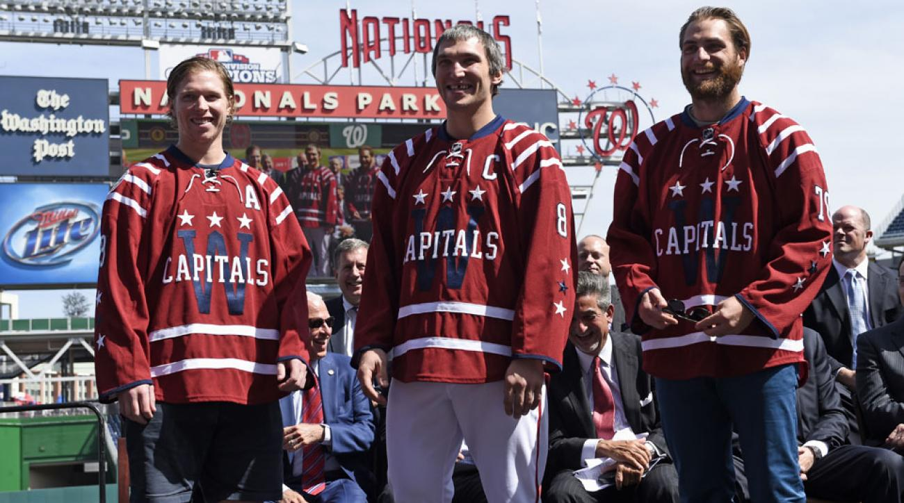 f39fec0f3e246 Washington Capitals unveil 2015 Winter Classic jerseys