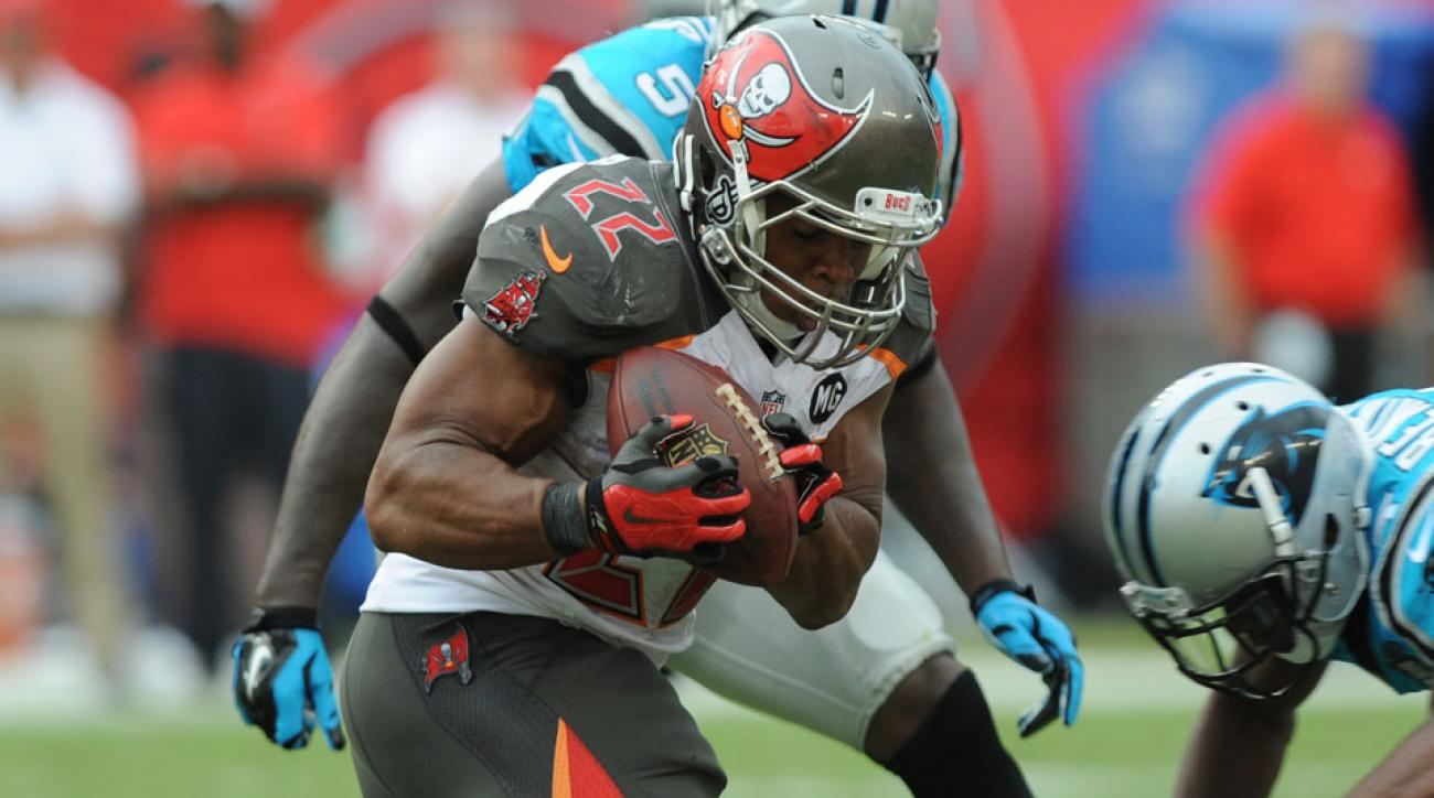 Doug Martin is practicing as normal for the Buccaneers on Wednesday