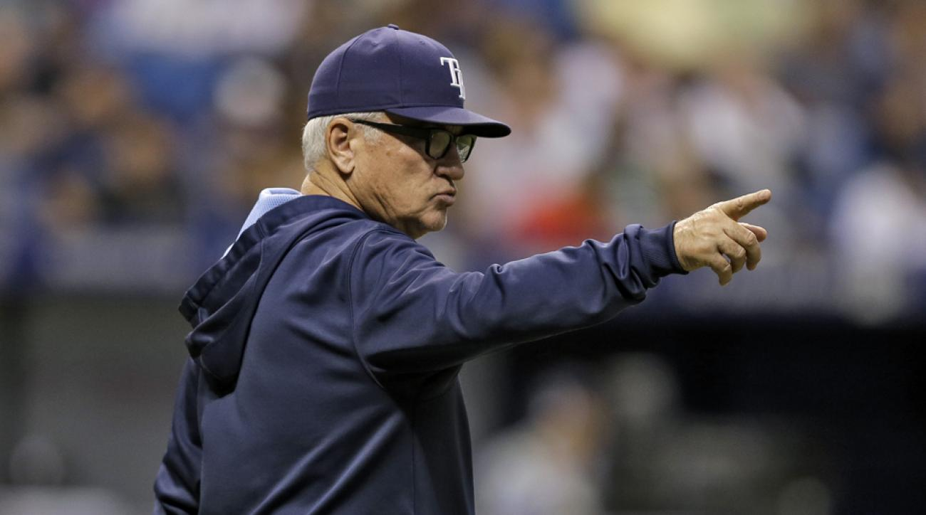 Joe Maddon Rays against pace of play rules