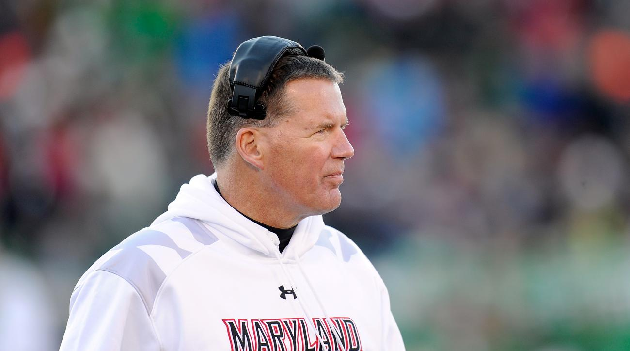 Maryland football Randy Edsall Indiana