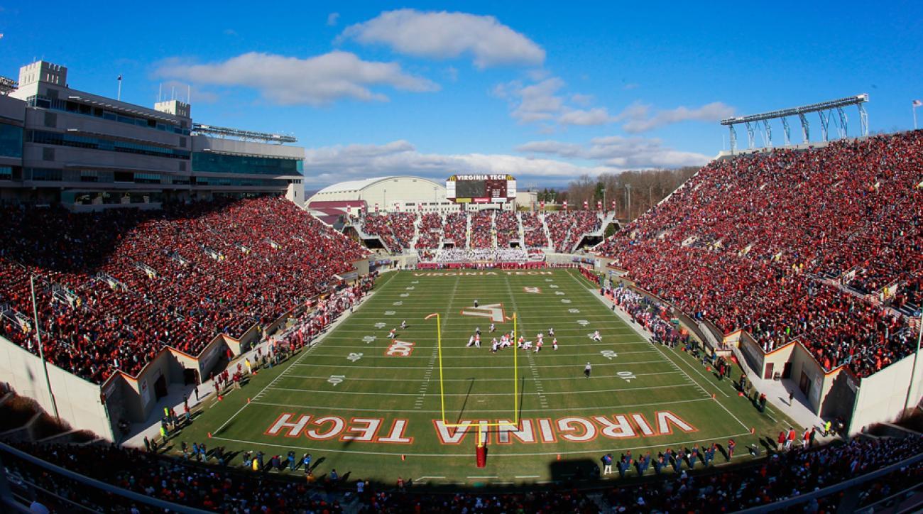 Virginia Tech football stadium