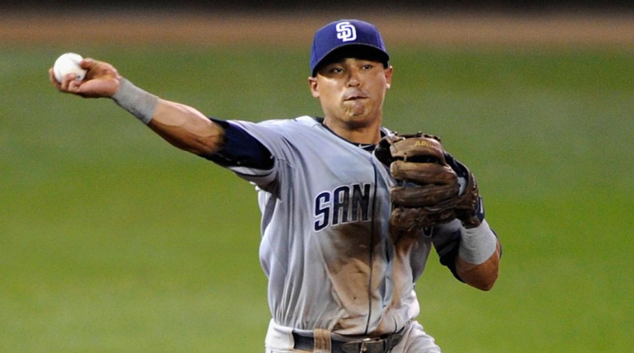 San Diego Padres Everth Cabrera
