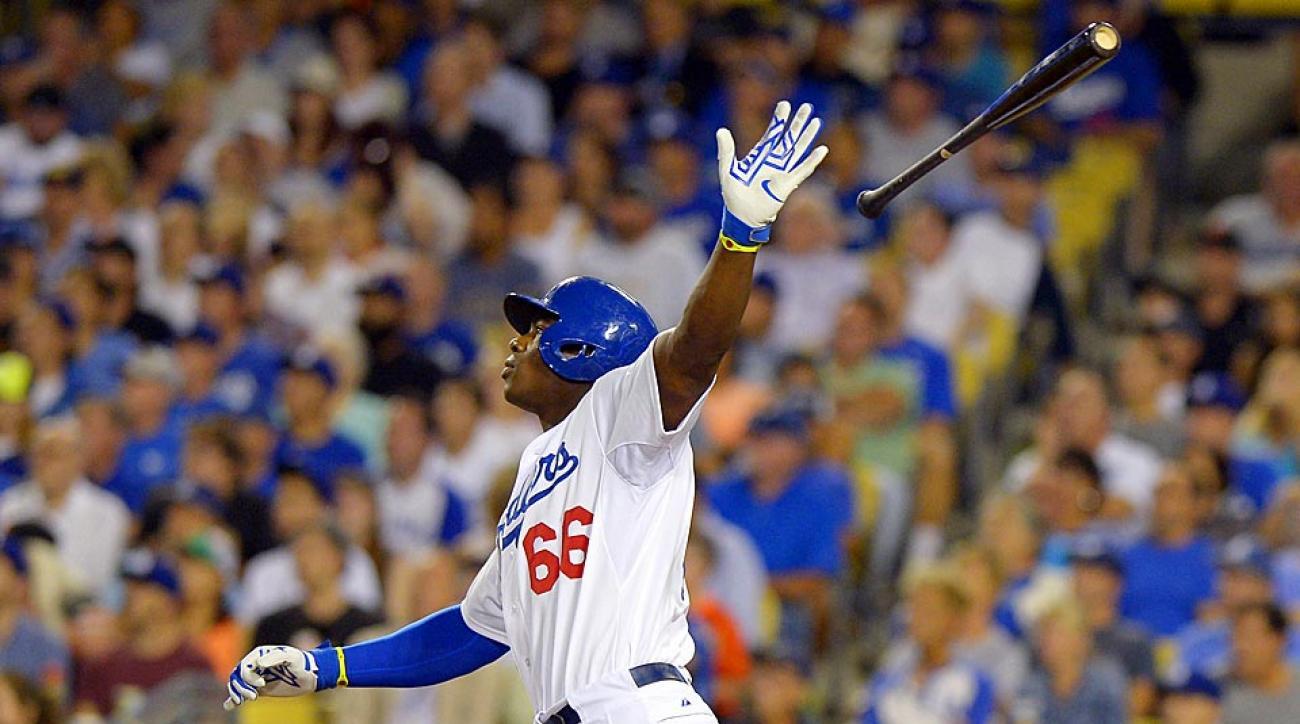 Yasiel Puig Los Angeles Dodgers