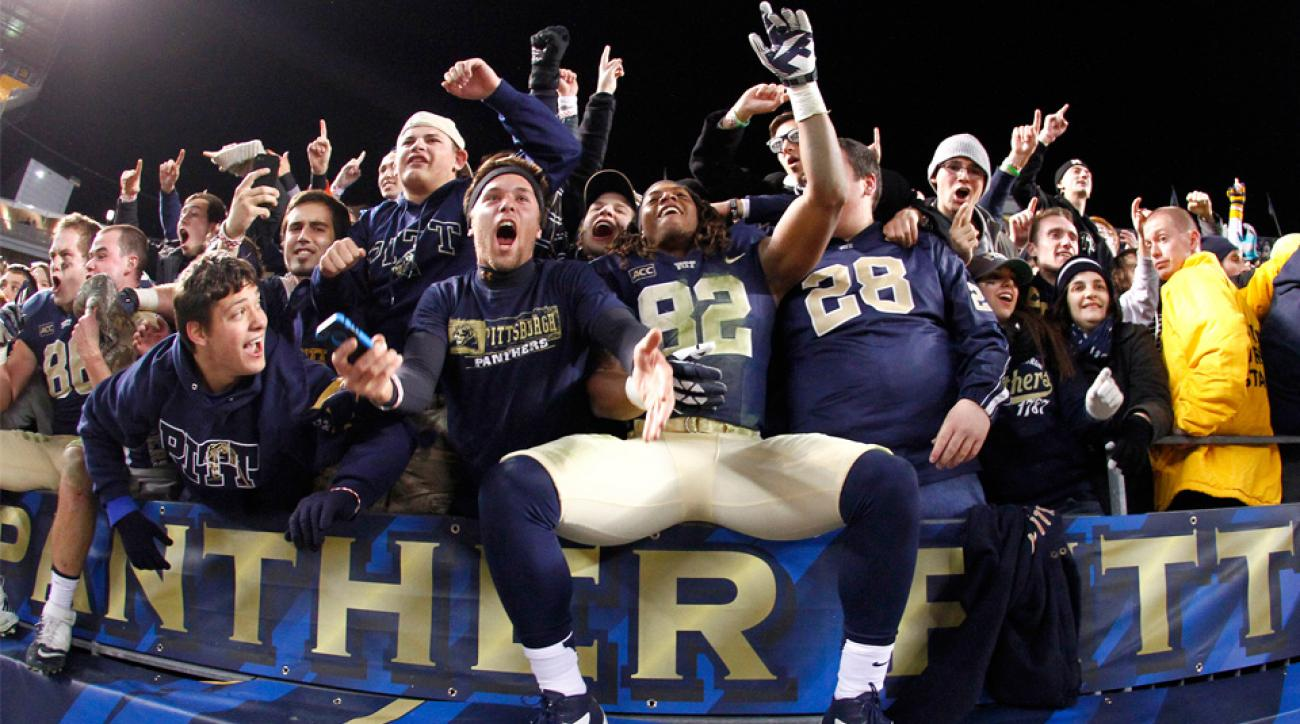 pittsburgh panthers akron zips