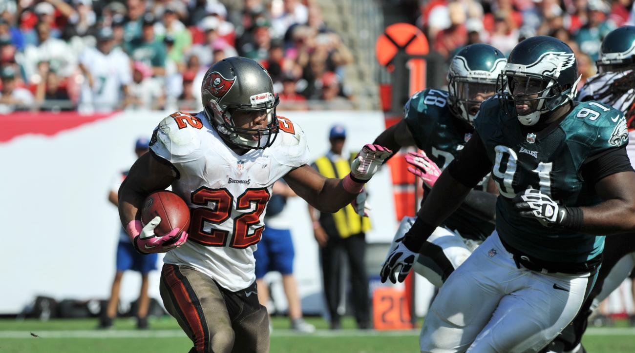Tampa Bay Buccaneers Doug Martin injury healthy