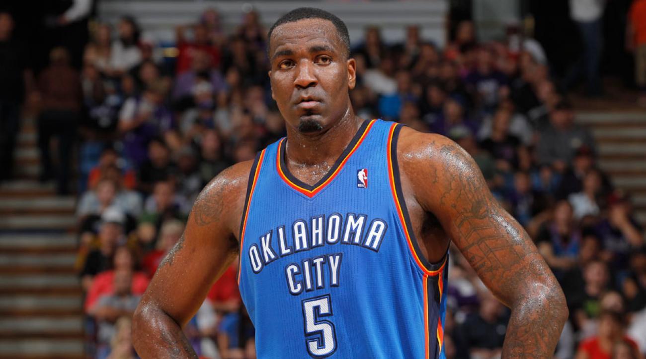 Oklahoma City Thunder Kendrick Perkins