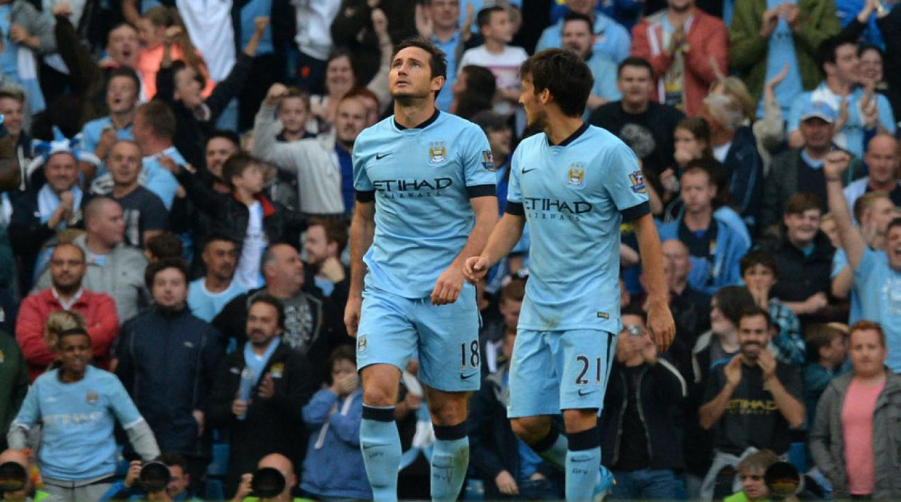 New York City FC's Frank Lampard says he hasn't discussed a loan extension with Manchester City.