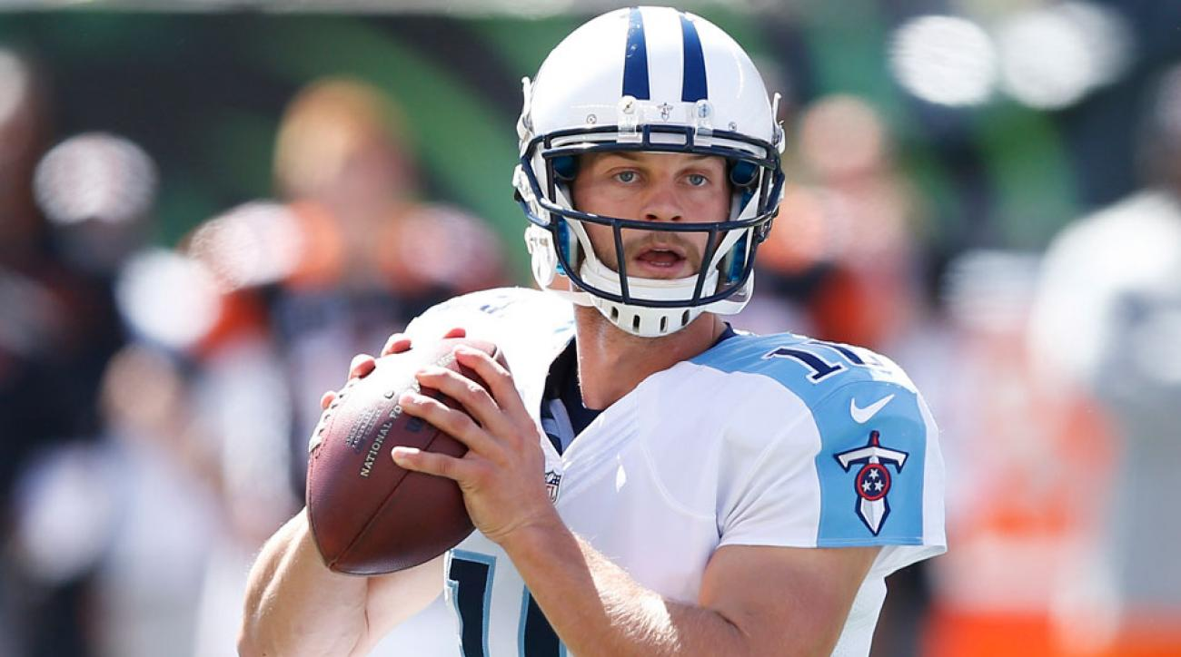 Tennessee Titans Jake Locker Browns cheap shot